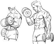 Two Hands Dumbell